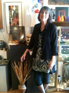 Downtown Blacksburg Matrix Gallery Owner, Lana Juarez